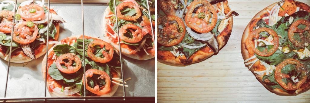 Anette Morgan Vegan Blog Italian Pizza Final Step