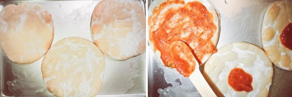 Anette Morgan Vegan Blog Italian Pizza Step 1 and 2