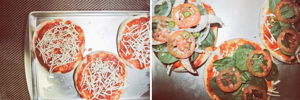 Anette Morgan Vegan Blog Italian Pizza Step 3 and 4
