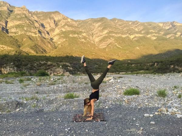 Anette Morgan Vegan Mexican Blogger Huasteca Monterrey Yoga