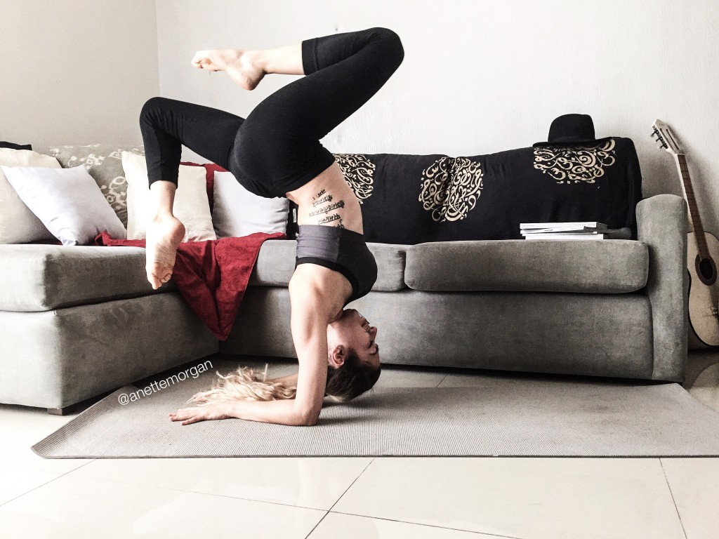 Anette Morgan Yoga Vegan Blogger