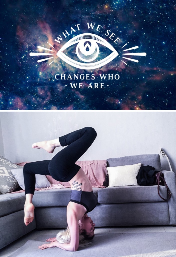Anette Morgan Vegan Yoga at Home Mexican Blogger Om Namaste