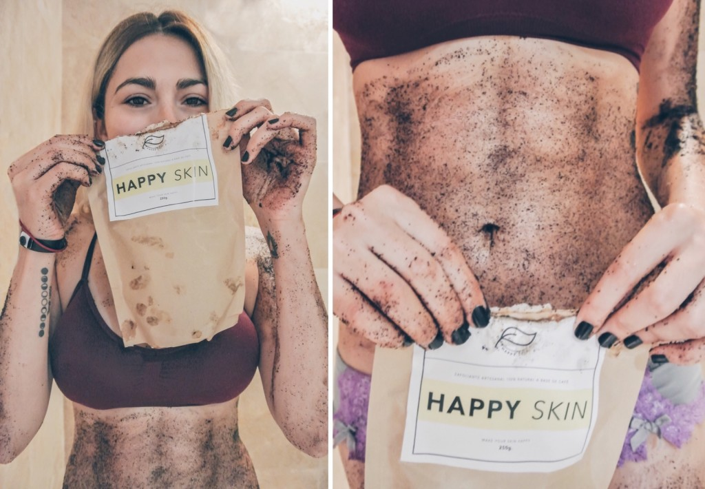 Anette Morgan Vegan Mexican Blogger Happy Skin Coffee Scrub 4