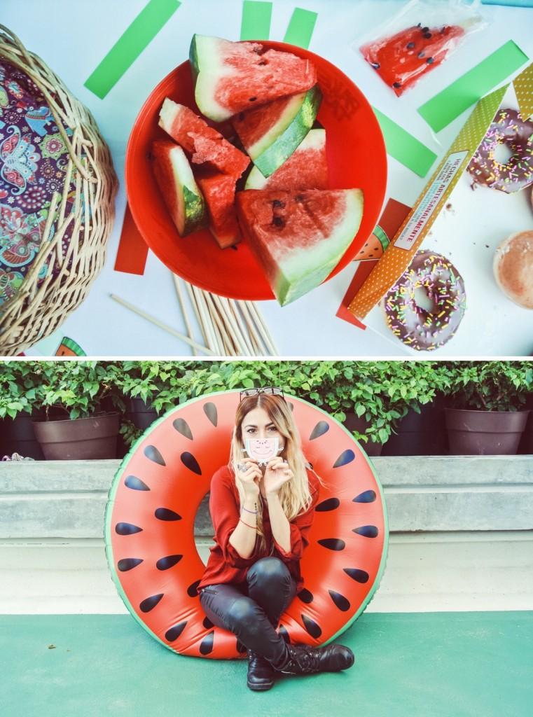 Anette Morgan Vegan Mexican Blogger Watermelon Party Monterrey 5