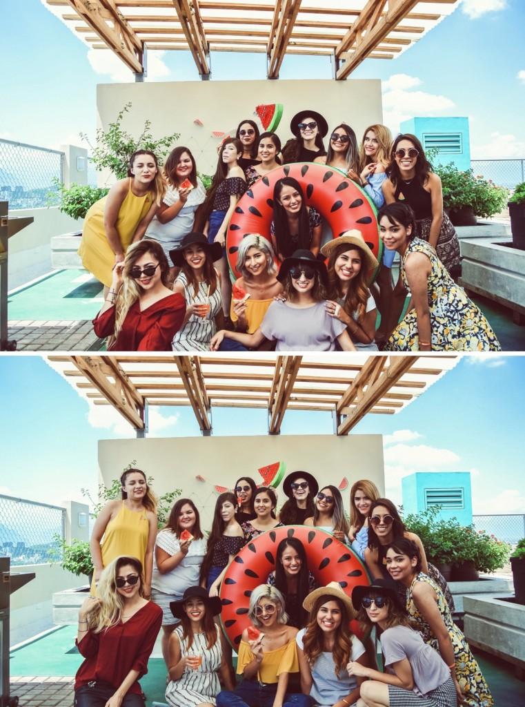 Anette Morgan Vegan Mexican Blogger Watermelon Party Monterrey 6