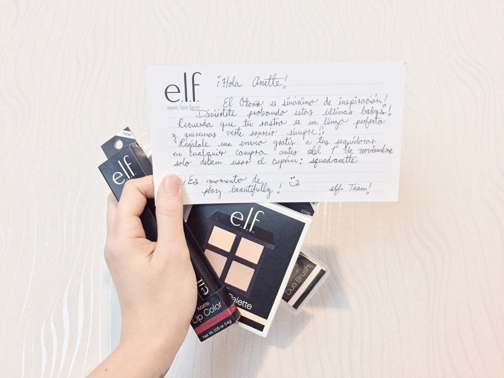 Anette Morgan Vegan Mexican Blogger ELF COSMETICS