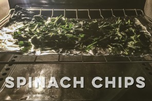 Healthy Spinach Chips