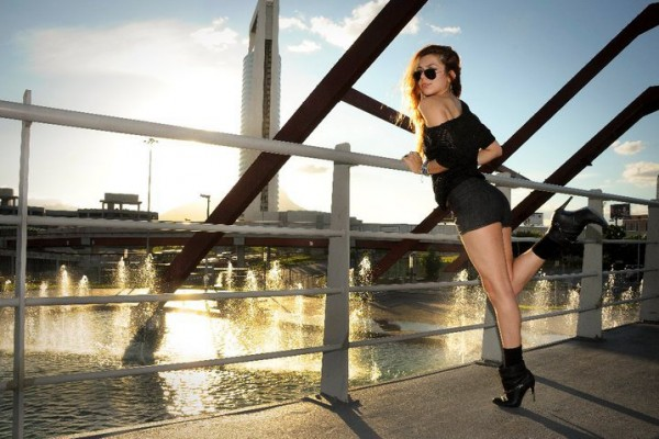 Anette Morgan Vegan Mexican Blogger Shorts Monterrey