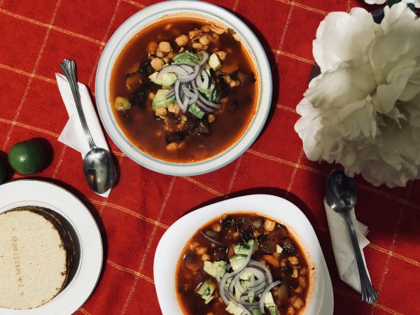 Anette Morgan Vegan Health Wellness Blog Pozole Vegano 8