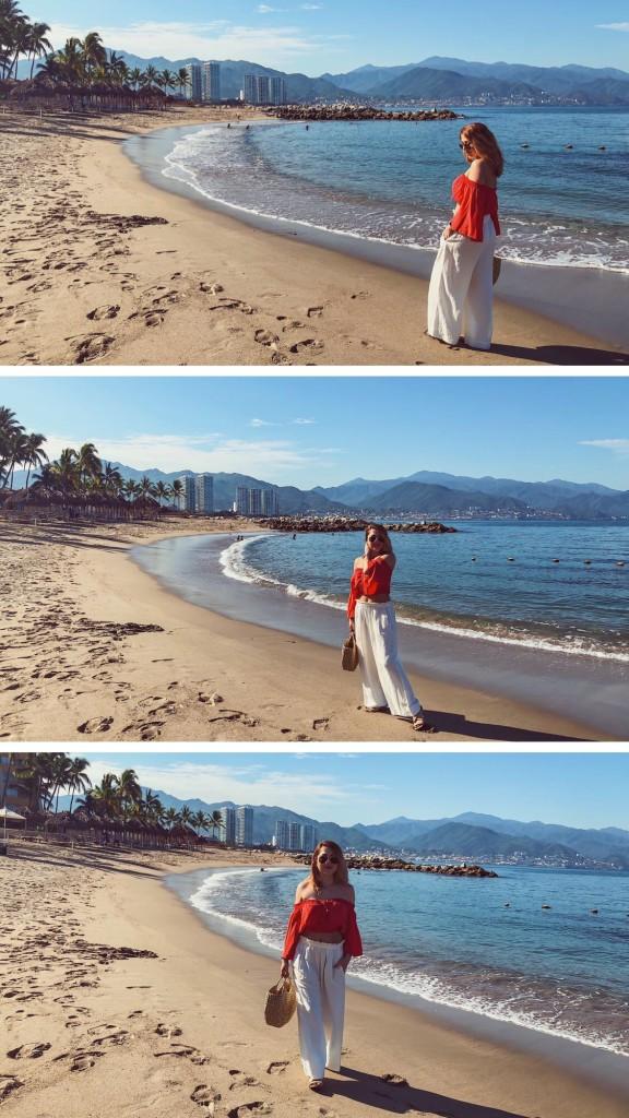Anette Morgan Wellness & Lifestyle Blog Puerto Vallarta OOTD beach oysho zara 4