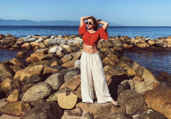 Anette Morgan Wellness & Lifestyle Blog Puerto Vallarta OOTD beach oysho zara