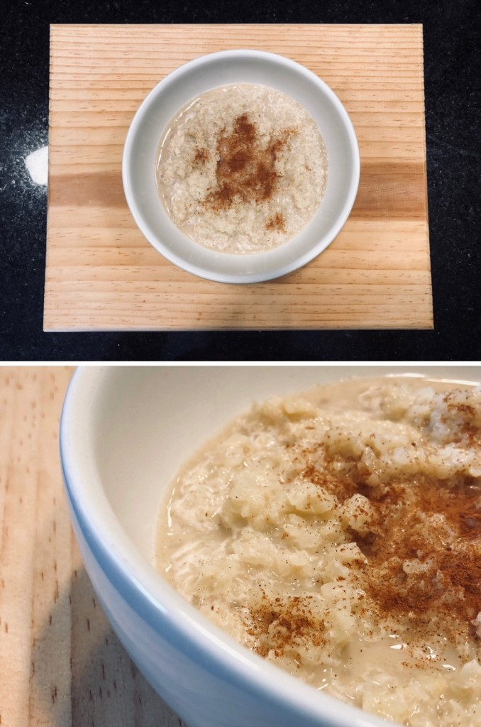 ANETTE MORGAN WELLNESS LIFESTYLE CAULIFLOWER OATMEAL AVENA COLIFLOR KETO RECIPE 2