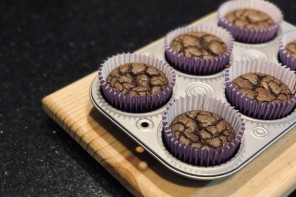 LOW CARB / KETO CHOCOLATE MUFFINS