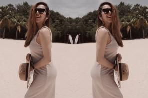 Pregnancy Beach Style