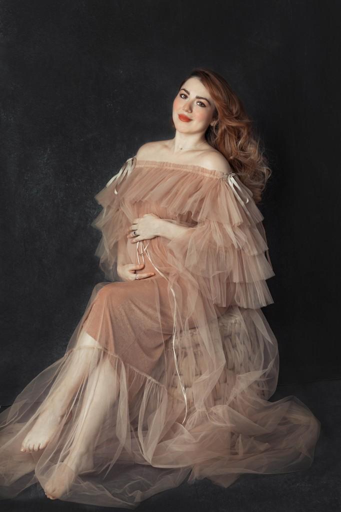 Anette Morgan Pregnancy Ander Sebastian Portrait 9